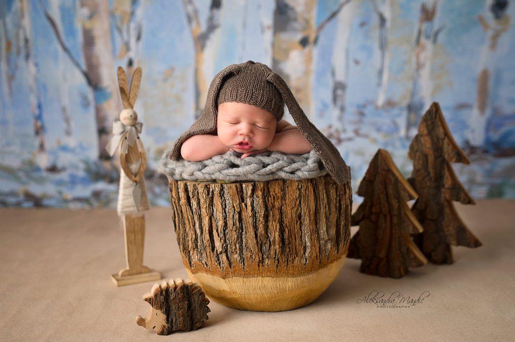 Beba ispred objektiva